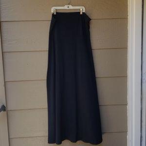 Pure Energy Black straplesa Maxi Dress 2x